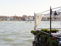 Romantic Giudecca Canal Stock Photography