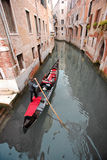 Romantic gondola ride Stock Photography
