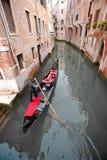 Romantic Gondola Ride Stock Photography