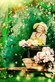 Romantic granny Stock Photos