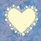 Romantic greeting card Royalty Free Stock Photography