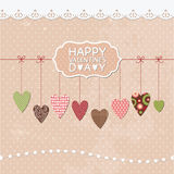 Romantic greeting card Royalty Free Stock Photo