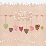 Romantic greeting card Royalty Free Stock Photo