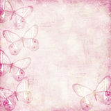 Romantic grunge becakground in pink Stock Photos