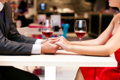Romantic hands royalty free stock images