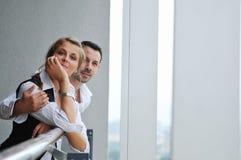 Free Romantic Happpy Couple On Balcony Stock Image - 10977151