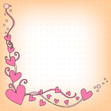 Romantic Heart Background Stock Photos