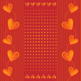 Romantic Heart Background Stock Photos