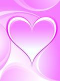 Romantic heart background. Stock Photos