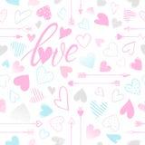Romantic heart illustration Stock Photo
