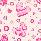 Romantic heart texture Royalty Free Stock Photos