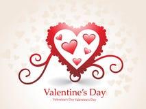 romantic hearts Valentine's Day Stock Photos