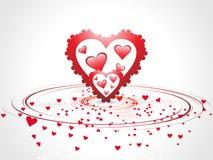 romantic hearts Valentine's Day Royalty Free Stock Photo