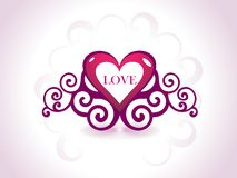romantic hearts Valentine's Day Stock Images