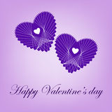 Romantic hearts Stock Photo