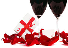 Romantic holiday celebration Royalty Free Stock Photography