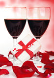 Romantic holiday celebration Stock Image