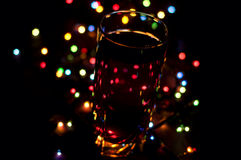 Romantic holiday drink Royalty Free Stock Photo