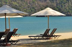 Luxury holiday resort in Langkawi Island, Malaysia Royalty Free Stock Photography