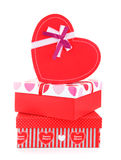 Romantic holiday gifts Stock Photo