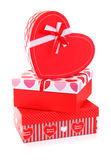 Romantic holiday gifts Stock Photos