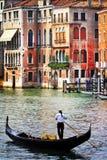 Romantic holidays in beautiful Venice. Italy royalty free stock photography