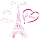 Romantic illustration Stock Photo