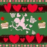 Romantic illustration Stock Photography