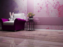 Romantic interior Royalty Free Stock Images