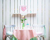 Romantic interior Stock Images