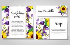 Romantic invitation Royalty Free Stock Photo