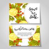 Romantic invitation Royalty Free Stock Photos