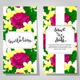 Romantic invitation Stock Photo