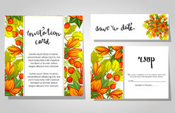 Romantic invitation Royalty Free Stock Images
