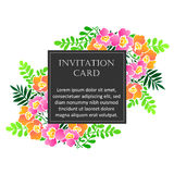 Romantic invitation Royalty Free Stock Image