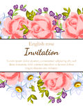 Romantic invitation Royalty Free Stock Photo