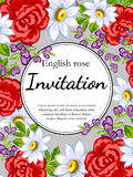 Romantic invitation Royalty Free Stock Photos