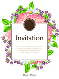 Romantic invitation Stock Photo