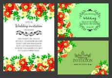 Romantic invitation Stock Photography