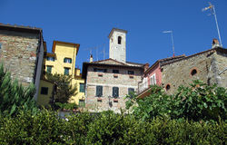 Romantic Italian small town Stock Images