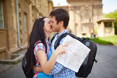 Romantic journey Royalty Free Stock Images