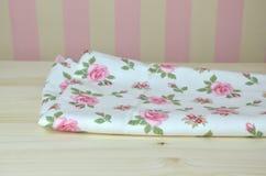Romantic Kitchen Towel Stock Image
