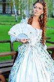 Romantic lady Royalty Free Stock Photography