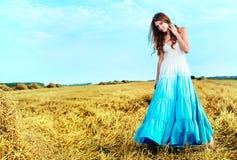 Romantic lady Stock Photography