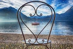 Romantic lake Stock Image