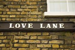 Romantic Lane Of Love Royalty Free Stock Photography