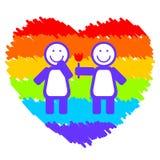 Romantic lesbi couple Stock Photo