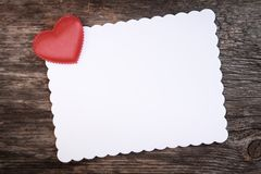 Romantic letter Stock Photos