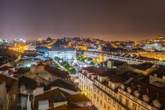 Romantic Lisbon street. Royalty Free Stock Photo