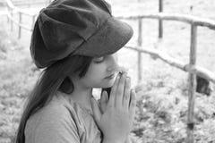 Romantic little girl Stock Images